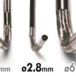 rf systemlab vj video endoscoop 2,8mm 3,9mm en 6,9mm vergelijk